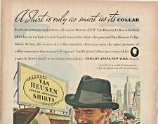 1937 Van Heusen Mens Shirts Vintage Print Ad Collar-Attached Shirts