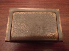 Antique Signed ROYCROFT Letter Holder Desk Item Hammered Copper Arts & Crafts