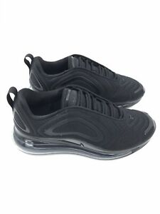 NIKE WOMENS Shoes Air Max 720 Size US 9 | Triple Black