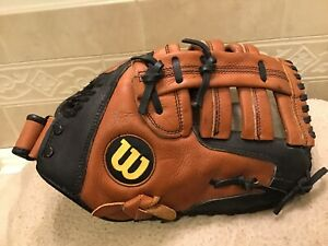"Wilson A500 12.25"" Baseball Softball First Base Mitt Right Hand Throw"