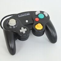 Game Cube Official Controller Pad Black Nintendo Game Ref 1458