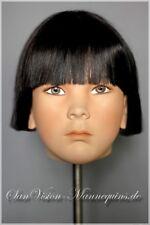 ♛ HINDSGAUL Kopf v. Schaufensterpuppe  Kind Mannequin head Schaufensterfigur 2