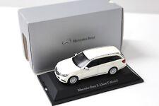 1:43 Kyosho mercedes clase e t-modelo White dealer New en Premium-modelcars