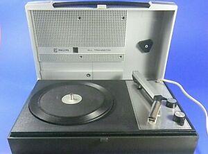 Philips All Transistor -Tragbarer Kofferplattenspieler-