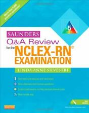 Saunders Q and A Review for the NCLEX-RN® Examination by Silvestri, Linda Anne