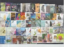 Schönes Lot Briefmarken aus Slowenien gestempelt von 2012 - 2018