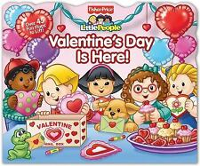 Fisher-Price Little People: Valentine's Day Is Here! (Lift-the-Flap)-ExLibrary