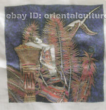 """Chinese 100% hand embroidered silk suzhou embroidery art:lady 8"""""""