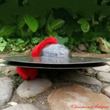 "14"" Tibetan Temple Ritual Bell Faqi Hand Bell Bronze Small Hat Cymbals 二帽鈸#1593"