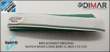 REPLACEMENT ORIGINAL  WATCH BAND CASIO BABY-G BGX-112.V3V.