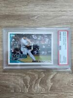 2010 Topps Update #US50 Mike Stanton Florida Marlins RC Rookie PSA 10 GEM MINT