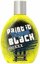 Paint It Beyond Black 100X Bronzer Indoor Outdoor Tanning Bed Lotion