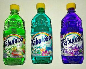 Fabuloso Cleaner 3 bottles 16.9 oz