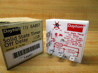 Dayton 6A857 Time Delay Relay