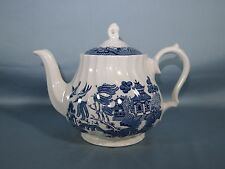Blue Willow Tea Pot England Royal Wessex Collection China