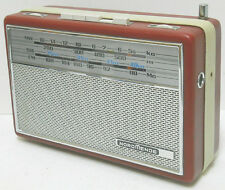 NORDMENDE Transita de Luxe Portable AM /FM /SW  Radio  Works W. Germany
