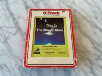 The Moody Blues This Is The Moody Blues 8-Track Tape 1974 Threshold S-114251 OOP