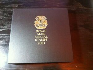NEW05/21 - 2003 Royal Mail Deluxe Year Book - Limited Edition 000073