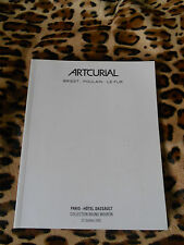 CATALOGUE ARTCURIAL - DESIGN - COLL. BRUNO MOURON - 21/10/2003