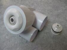 Poly Gunite Jet Body Assembly - White