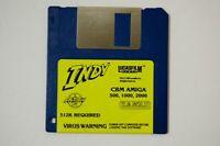 "Indy 500 1000 2000 512K CBM Amiga 3.5"" Floppy Disk Vtg Computer Game"