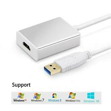 New listing Usb 3.0 to Hdmi Hd 1080P Video Cable Adapter Converter for Windows 10 7 8 Xp