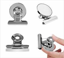 4 Pack Magnetic Clips Holder 2 Inch/Neodymium magnet/Refrig Office Garage Craft