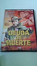 """DVD """"Debt of Death"""" mint Alberto mariscal julio aleman Barbara angley"""