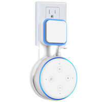 Outlet Wall Mount Holder Bracket For Amazon Echo Dot 3rd Generation