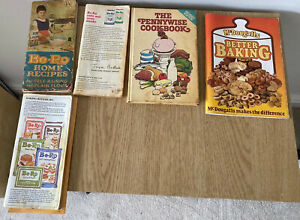 VINTAGE RECIPE COOK BOOKS - BE-RO, PENNYWISE, MCDOUGALLS