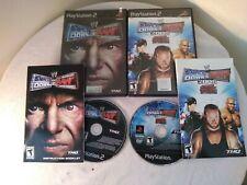 WWE SMACKDOWN vs. RAW BUNDLE 2 VIDEO GAMES 2004 2008 PS2 CIB WWF CENA UNDERTAKER