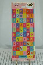 HALLMARK STICKERONI STICKERS SET OF FIVE PACKAGES~NEW~LETTERS~FREE SHIP US~