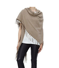 Poncho AMY VERMONT taupe meliert. NEU!!! KP 69,99 € SALE%%%