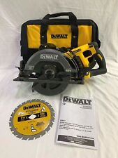 DEWALT 60V MAX 7-1/4 in. Worm Drive Style Saw, Blade & Bag DCS577B -New From Kit