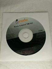 ROXIO CREATOR DE 10.3 MEDIA CREATOR CD DVD BURNING SOFTWARE - Reinstall Disc