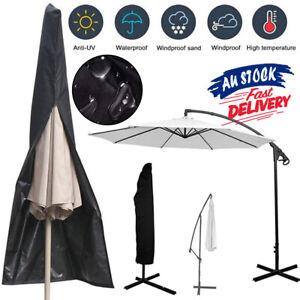 Outdoor Banana Umbrella Cover Garden Patio Cantilever Parasol Protective Aug 20