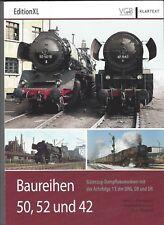 Baureihen 50, 52 und 42 Güterzug-Dampflokomotiven