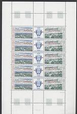 TAAF - 1999 - 50° delle basi Kerguelen e Amsterdam - Minifoglio d 5 coppie
