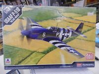 """1/48 scale plastic model kit by Academy USAAF P-51B """"blue nose"""""""