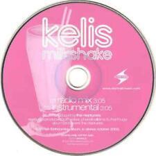 Kelis: Milkshake PROMO MUSIC AUDIO CD Radio Mix Instrumental R&B 82876-54243-2