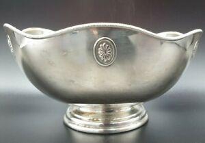 Vintage Silverplate Bowl Marked Stewart Dawson JD&S EP A126/2 - Made in England
