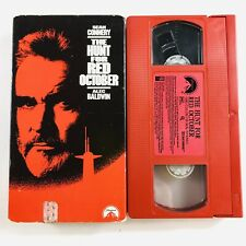 The Hunt for Red October (VHS, 1990) Rare Red Tape Edition, Sean Connery