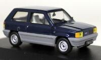 Ixo 1/43 Scale - CLC069 Fiat Panda 45 Blue LHD Diecast Model Car
