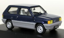 Ixo 1/43 Scale - CLC069 Fiat Panda 45 Blue LHD Diecast Model Car