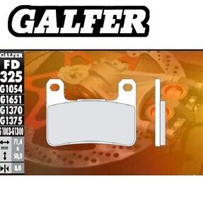 FD325G1003 PASTIGLIE FRENO GALFER ANTERIORI PER SUZUKI VZR 1800 INTRUDER 08
