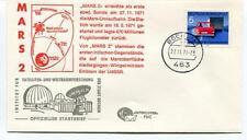 1971 Mars 2 Satelliten Weltraumforschung Bochum Sonde Mars Umlaufbahn Deutsche