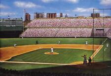 Babe Ruth Called Shot New York Yankees Art Print Litho Bill Goff signed artist