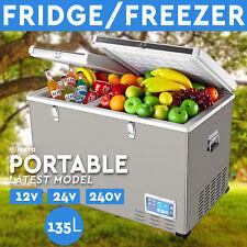 135l Portable Freezer Fridge 12v/24v/240v Camping Car Boat Caravan Cooler
