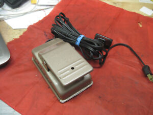 Kenmore White Rotary Domestic Dressmaster Sewing Foot Pedal Controller Vintage