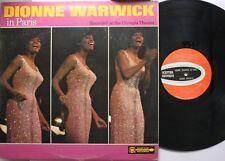 Soul Lp Dionne Warwick In Paris On Scepter